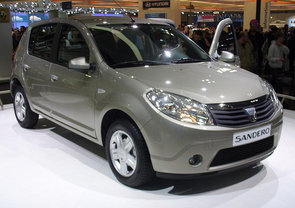 Dacia Sandero – locul opt în topul preferințelor șoferilor din Spania