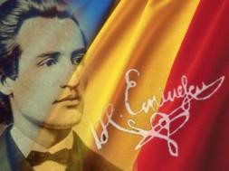 Mihai-Eminescu-si-steagul-tricolor