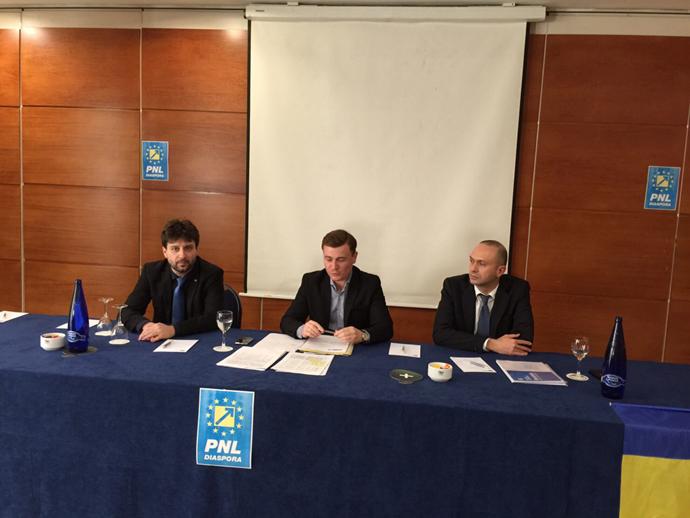 Copreședintele PNL Diaspora, Victor Ionescu, a numit șefii filialei din Spania a partidului