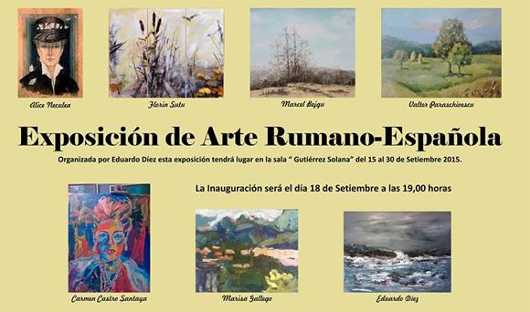 Expoziție de artă româno-spaniolă la Madrid