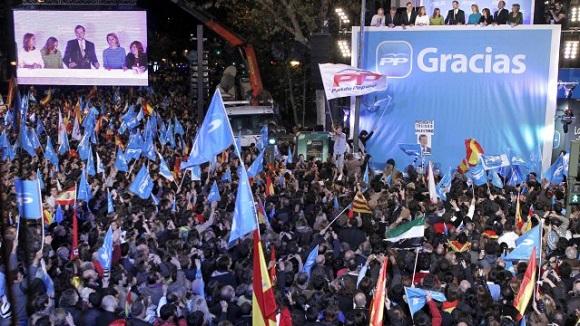 Partidul Popular a câştigat scrutinul legislativ din Spania, dar nu are majoritate parlamentară