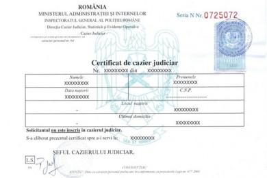 certificat-cazier-specimen