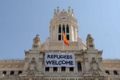 refugiați Spania