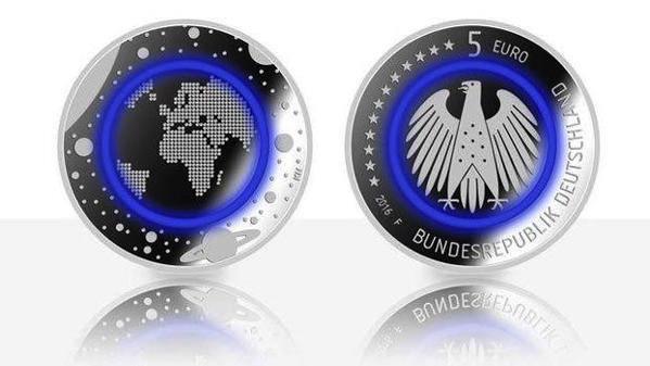 Noua monedă de 5 euro, prezentată în Germania