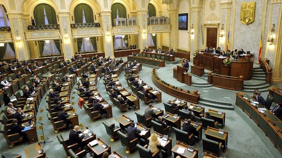 Senatul a respins proiectul legislativ privind reducerea numărului de parlamentari
