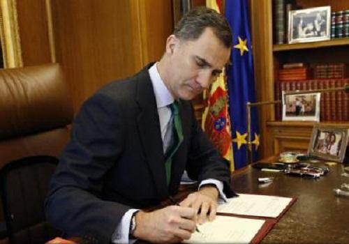 Alegeri anticipate în Spania. Regele a semnat decretul de dizolvare a Parlamentului