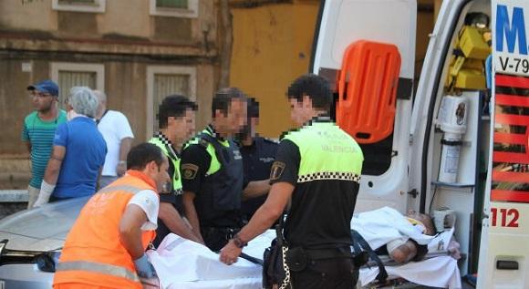 Spania. Și-a bătut nevasta și s-a aruncat de la etajul șase de frica poliției