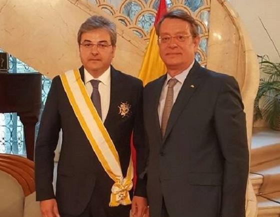 Fostul ambasador român în Spania, decorat de Guvernul de la Madrid