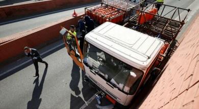 Barcelona camion Spania
