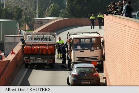 Spania camion Barcelona