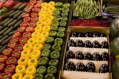 Spania fructe și legume
