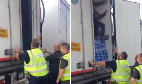 Spania. Un șofer român transporta irakieni ilegal spre Marea Britanie