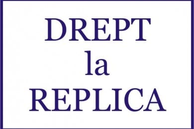 DREPT LA REPLICA