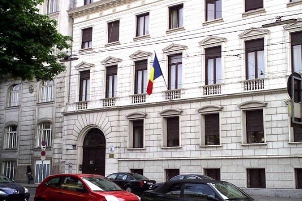 O firmă de avocatură, promovată pe pagina oficială a Ambasadei României din Austria