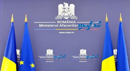 Ministerul român al afacerilor externe, transformat în Ministerul afacerilor Blue Air