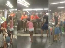 metroul din Barcelona