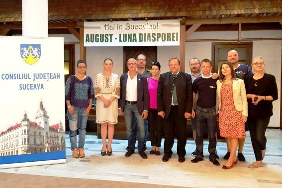 Oferta turistică a Bucovinei, promovată de Uniunea Jurnaliștilor Români de Pretutindeni