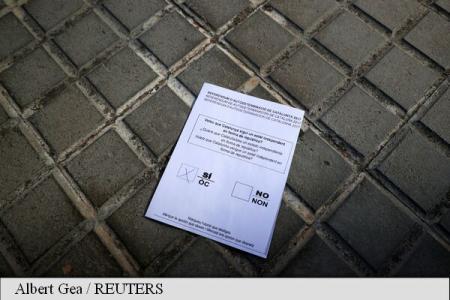 Catalonia. Garda Civilă a confiscat mai multe milioane de buletine de vot
