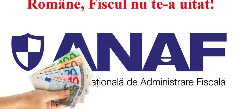 Anaf vrea bani din diaspora