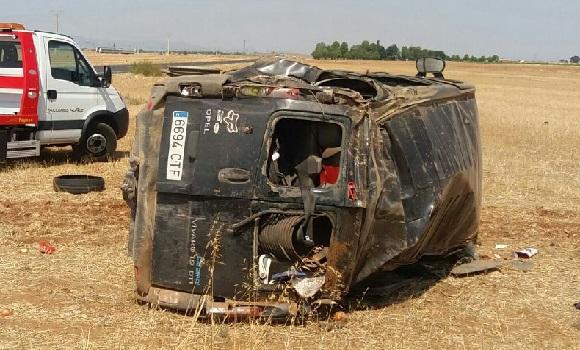 Spania. Opt muncitori sezonieri români, victime ale unui accident auto. O femeie a murit