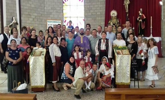 Sărbătoare la Huelva. Biserica românească din localitate și-a aniversat parohul