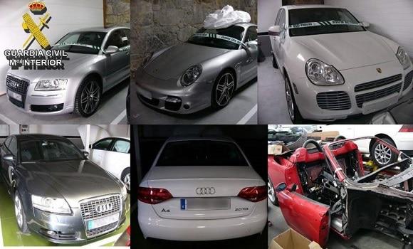 Spania. Schimbau kilometrajele mașinilor de lux. 13 români arestați